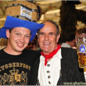 Oktoberfest crew - Benno and Don