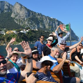 Capri group photo