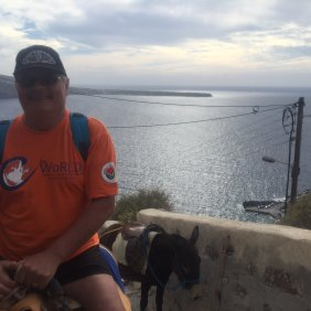 Donkeys at Oia