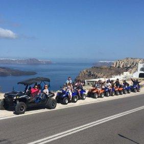 Quad Bike fun on Santorini