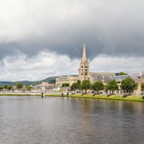 45040009 - view of inverness, scotland
