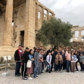 Akropolis group photos