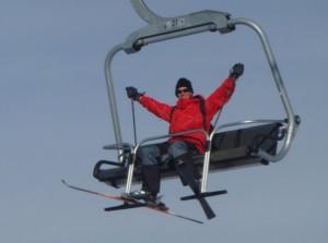 Ski lifts!