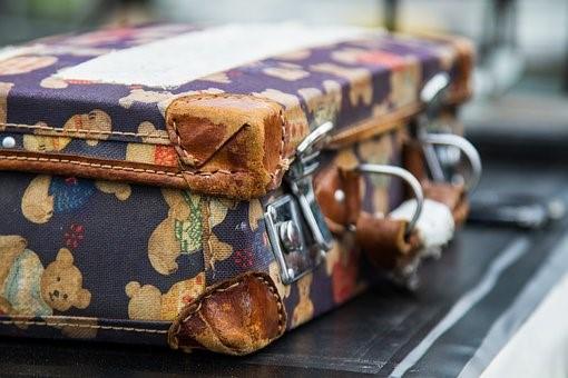 Luggage on carousel