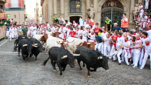 pamplona-spain-running-bulls